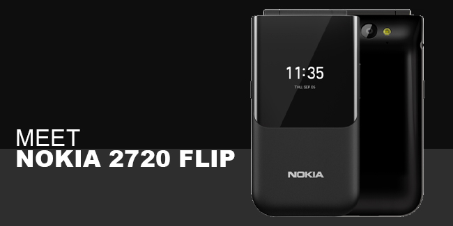 Nokia 2720 Flip   The Classic Nokia Phone is Back with its