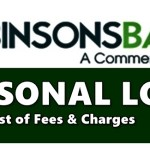 Robinsons Bank Personal Loan Fees Charges