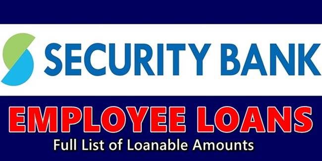 Security Bank Employee Loans