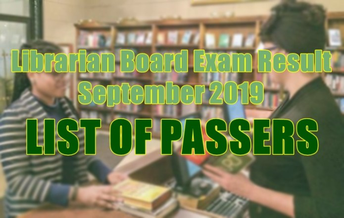 librarian board exam