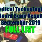 medical technologist full list