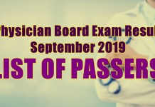 physician board exam passers