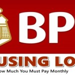 BPI Housing Loan Monthly Amortization