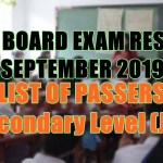 let board exam sec j-l