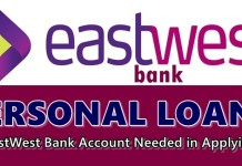 EastWest Bank Personal Loans