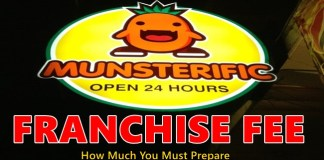 Munsterific Franchise Fee