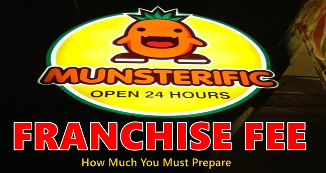 Munsterific Franchise Fee