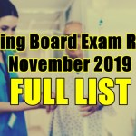 nursing board exam result full list