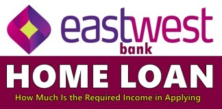 EastWest Bank Home Loan