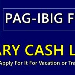 Pag-IBIG Salary Cash Loan