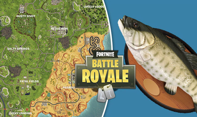 Fortnite FISHING TROPHY Map Locations Dance In Front Of Fish Trophies Week 8 Challenge News Flash