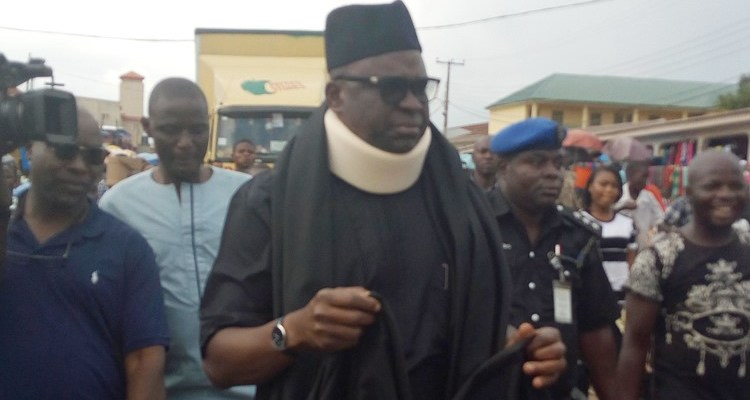 Image result for 'My security men have been withdrawn' — Fayose says he is being harassed