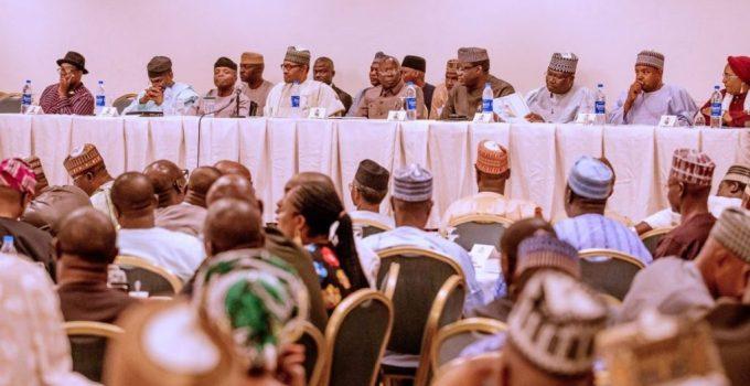 Buhari,APC cancus