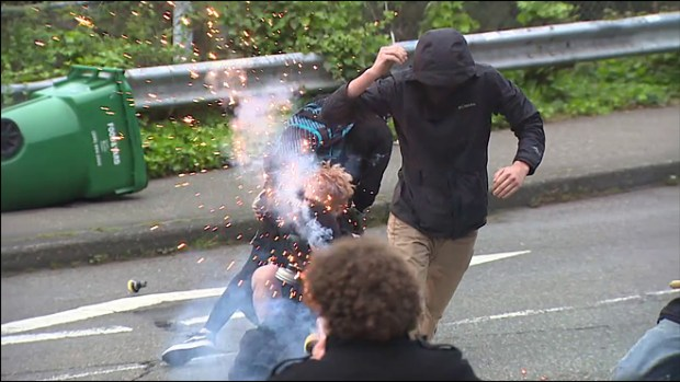 many people injured from police attacks