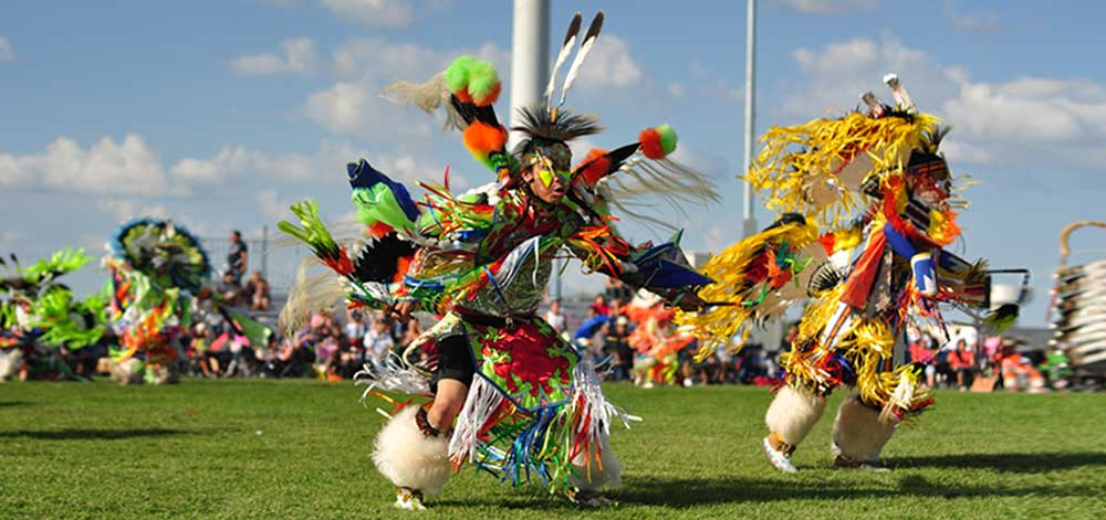 Native American Holiday POW WOW Dancers