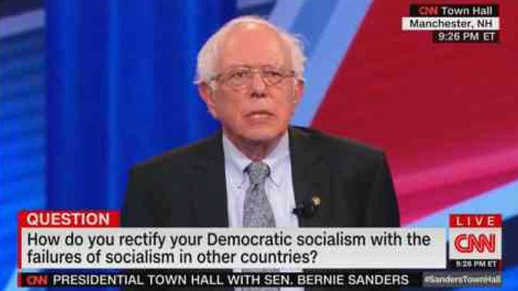 socialism has failed in other countries socialism has never worked bernie sanders