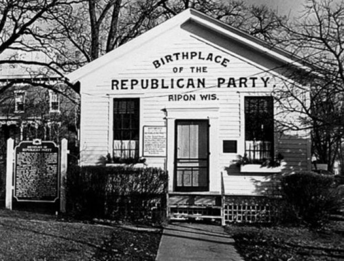 Was the Republican Party created to abolish slavery