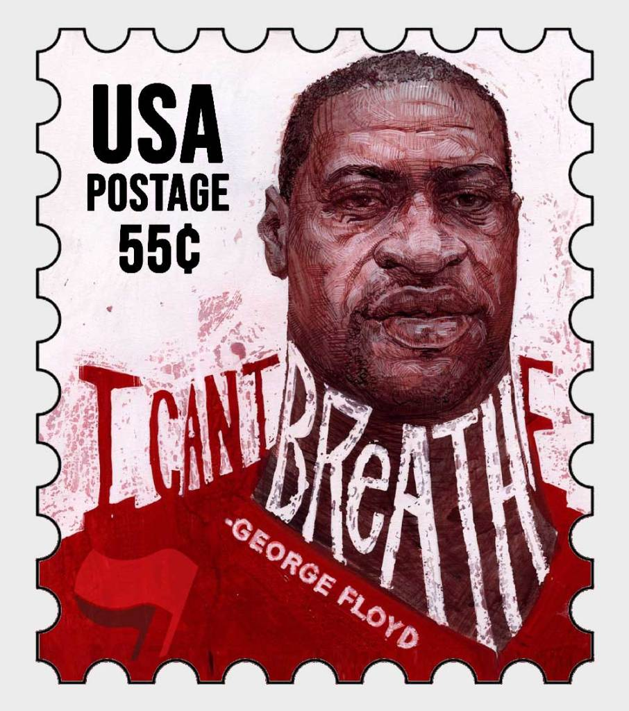 George Floyd Commemorative Postage Stamp