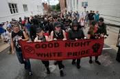 good night white pride is ANTIFA a political party are ANTIFA violent riot protestors