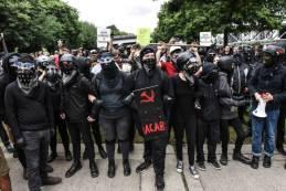 is ANTIFA a political party are ANTIFA violent riot protestors