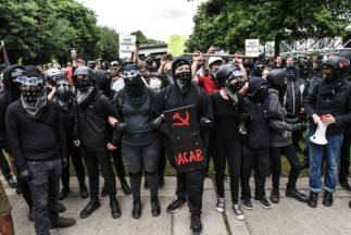 is ANTIFA a political party are ANTIFA violent riot protestors