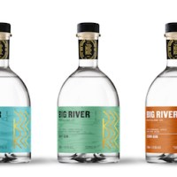 Award-winning Big River Distilling Co. launches bold new labels
