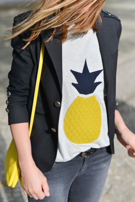 pineapple and blazer