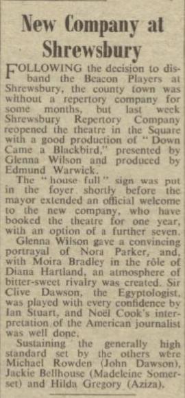 The Stage - Thursday 30 September 1954