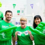 M&S Stores across Cardiff are celebrating 10 years' partnership with Macmillan