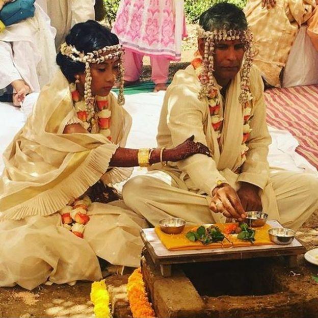 अंकिता और मिलिंद की शादी