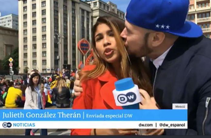 महिला रिपोर्टर के साथ बदतमीजी