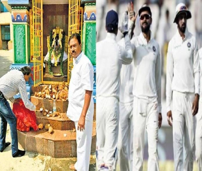 वेस्टइंडीज का 2-0 से सफाया, स्टेडियम में बना मंदिर तो बदल गई भारतीय टीम की किस्मत