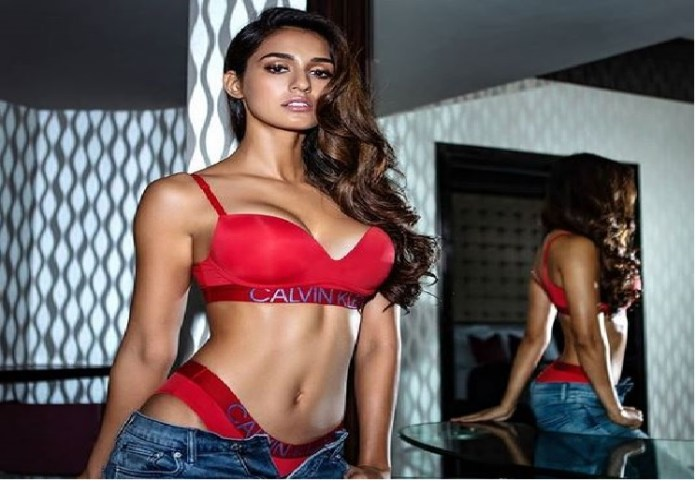 actress disha patani trolled for her pink bikini picture