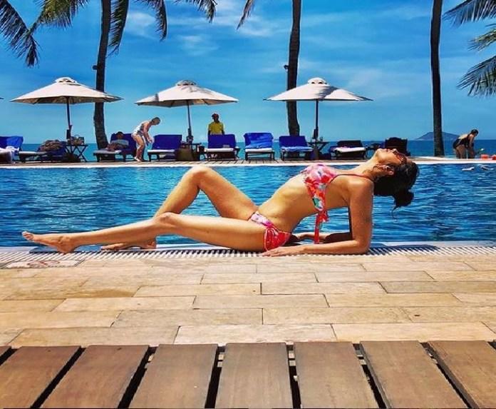 fir fame kavita kaushil bold bikini look picture viral on instagram
