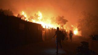 Τραγωδία στη Θήβα: Νεκρό παιδί σε πυρκαγιά στη δομή προσφύγων