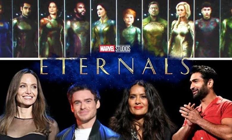 Marvel Revela Que o Filme Os Eternos Terá Ligação Com os Vingadores