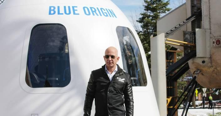 Quem é Jeff Bezos, Blue Origin