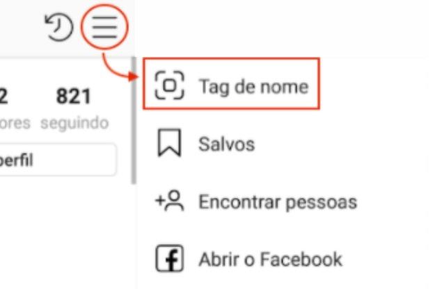 Como criar a sua name tag no Instagram