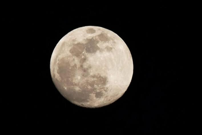 Eventos Astronômicos de Outubro - Lua cheia / Lua do Caçador