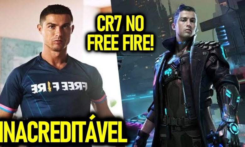Cristiano Ronaldo é o Novo Embaixador do Free Fire, ele Também Será o Personagem Chrono