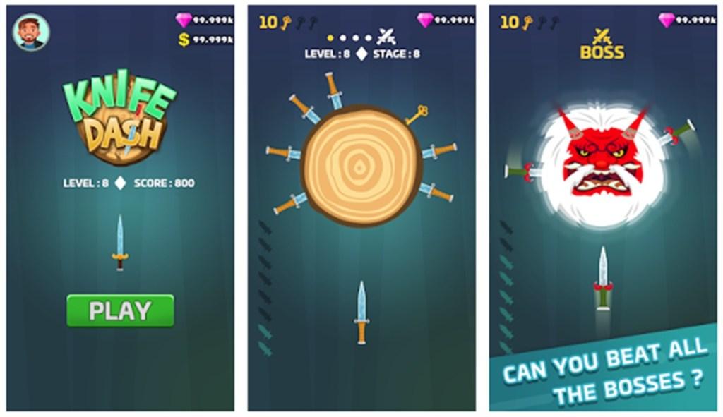 Knife Dash, Aplicativos Para Saldo no Free Fire