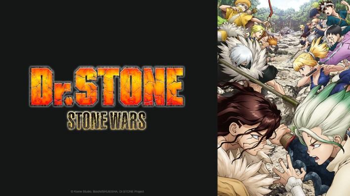 Dr. Stone Stone Wars - Crunchyroll novos animes dublados