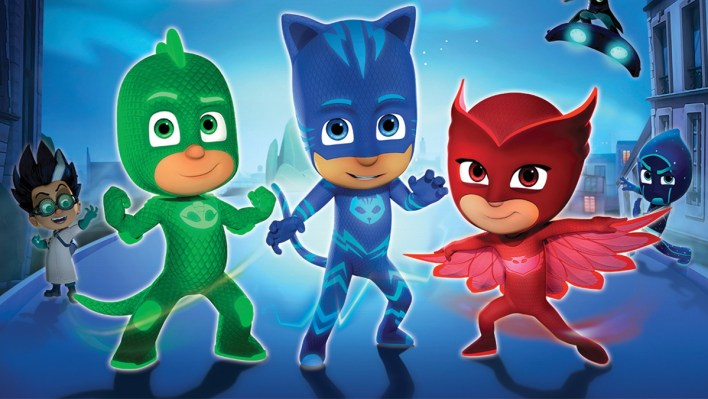 As Animações mais Assistidas de 2020 - PJ Masks
