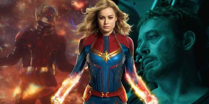 Capitão Marvel Vingadores Ultimato