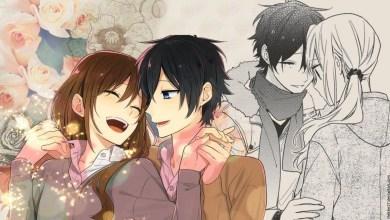 Ilustração - Hori e Miyamura | Horimiya.