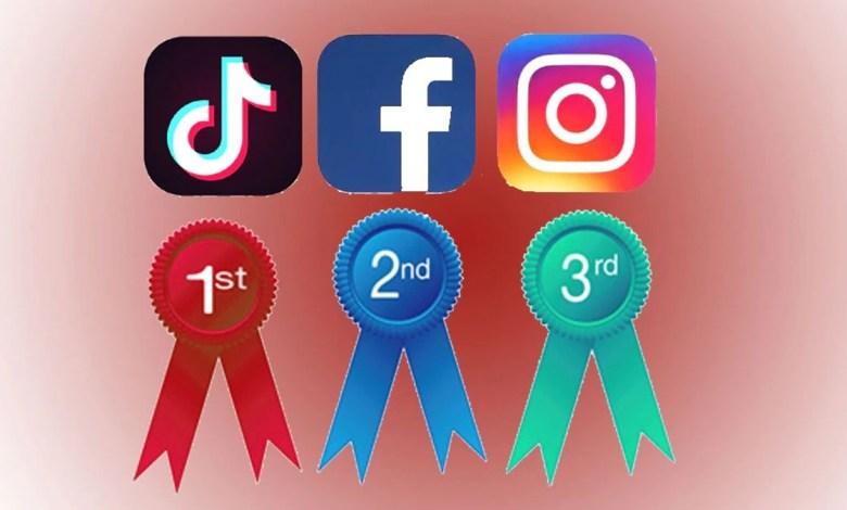TikTok, Facebook e Instagram São os Apps Mais Baixados de Setembro