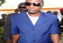 President Alpha Conde of Guinea
