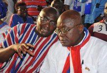 Dr. Mahamudu Bawumia and Nana Akufo-Addo