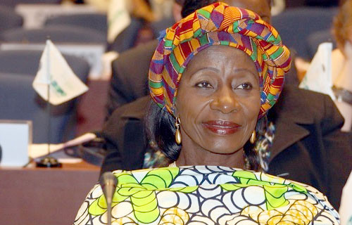 Sherry Hanny Ayittey, Minister for Fisheries and Acqua Culture