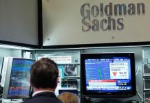 US banking giants Goldman Sachs and Morgan Stanley have reported contrasting results for the first quarter of the year.